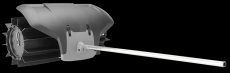 HUSQVARNA Sweeper adapter SR600-2